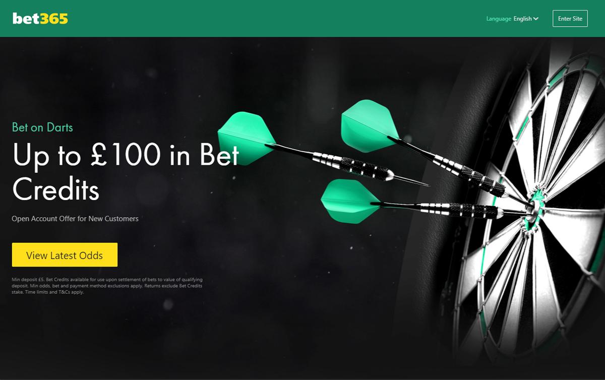 bet365 live darts